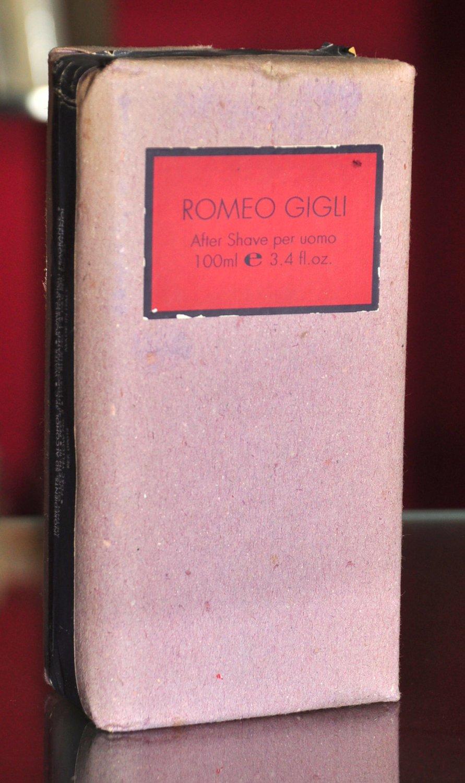 Romeo Gigli After Shave For Men 100ML. 3.4 Fl. Oz. Super Rare Vintage Old 1991