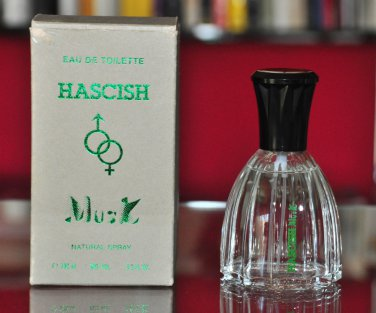 Hascish Musk Veejaga Eau De Toilette Edt 100ML 3.4 Fl. Oz. Unisex Fragrance Rare Old Vintage 1984