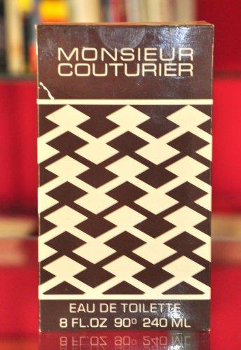 Jean Couturier Monsieur Eau De Toilette Edt 240ML 8 Fl. Oz. Man Rare Vintage New 1976