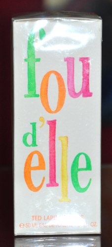 Ted Lapidus Fou D'elle Eau De Toilette Edt 50ML 1.7 Fl. Oz. Woman Rare Vintage Old 1997