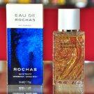Rochas eau de Rochas Homme Eau De Toilette Edt 50ML 1.7 Fl. Oz. Man First Version Rare 1993