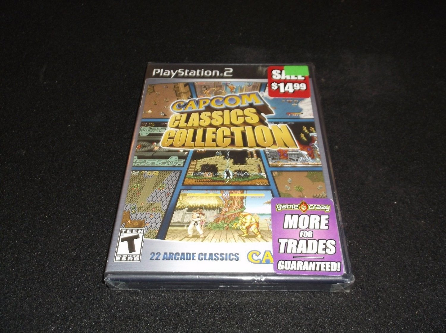 Capcom Classics Collection (Sony PlayStation 2, 2005)new