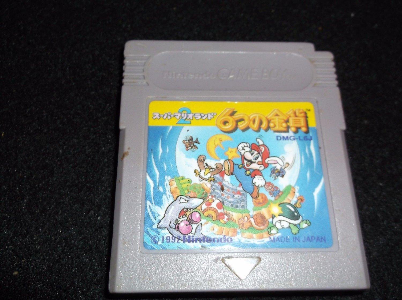 Nintendo Game Boy. Super Mario Land 2 6 Golden Coins. DMG-L6J