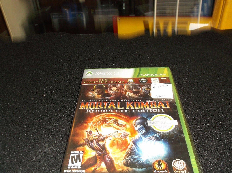 Mortal Kombat -- Complete Edition (Microsoft Xbox 360, 2012)
