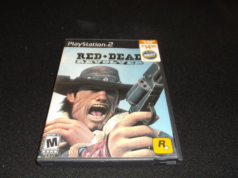 Red Dead Revolver (Sony PlayStation 2, 2004)CIB