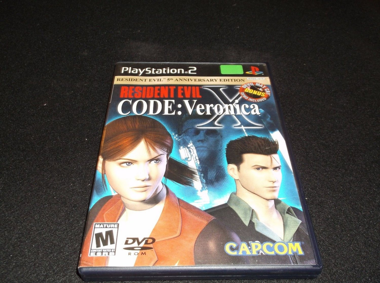 Resident Evil -- CODE: Veronica X Greatest Hits (Sony PlayStation 2, 2002)CIB
