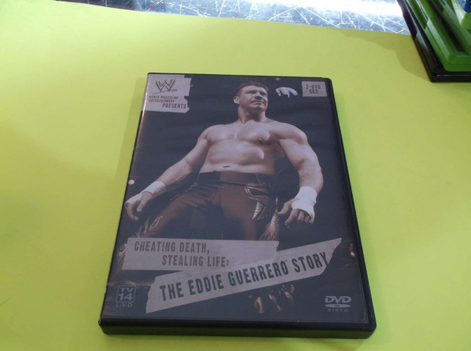 Cheating Death, Stealing Life: The Eddie Guerrero Story (DVD, 2004, 2-Disc Set)