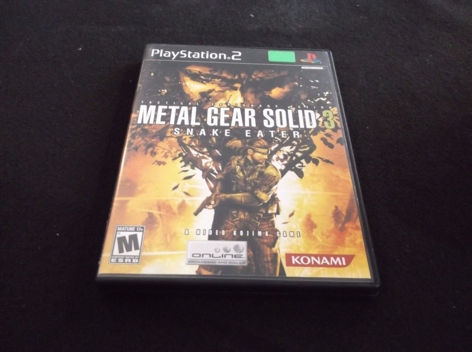 Metal Gear Solid 3: Snake Eater (Sony PlayStation 2, 2004)CIB