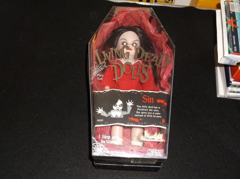 Mezco Living Dead Dolls - 2000 - Sin - Pure Evil - Series 1