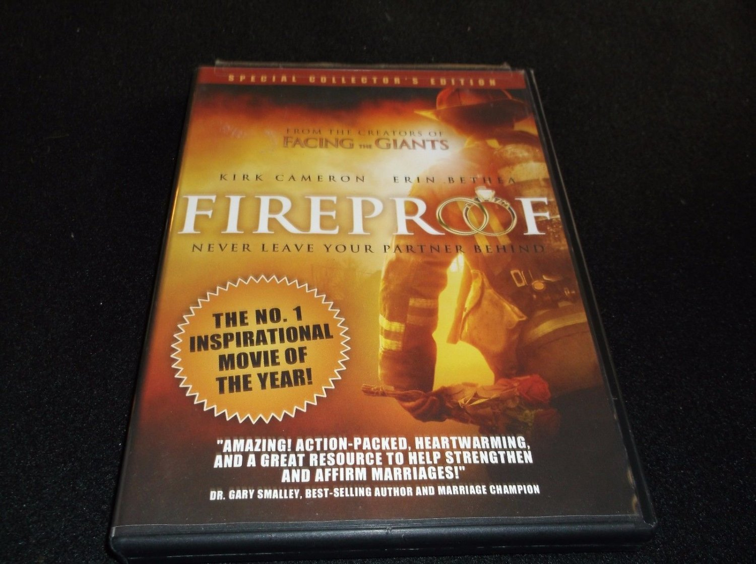 Fireproof(2008) DVD Special Collector's Edition, Kirk Cameron Erin Bethea