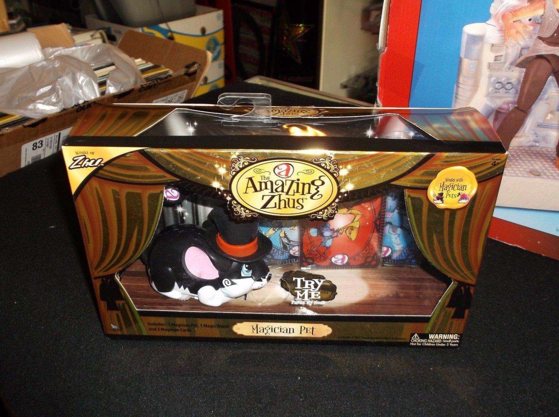 NEW THE AMAZING ZHUS MAGICIAN PET - WORLD OF ZHU NEW IN BOX