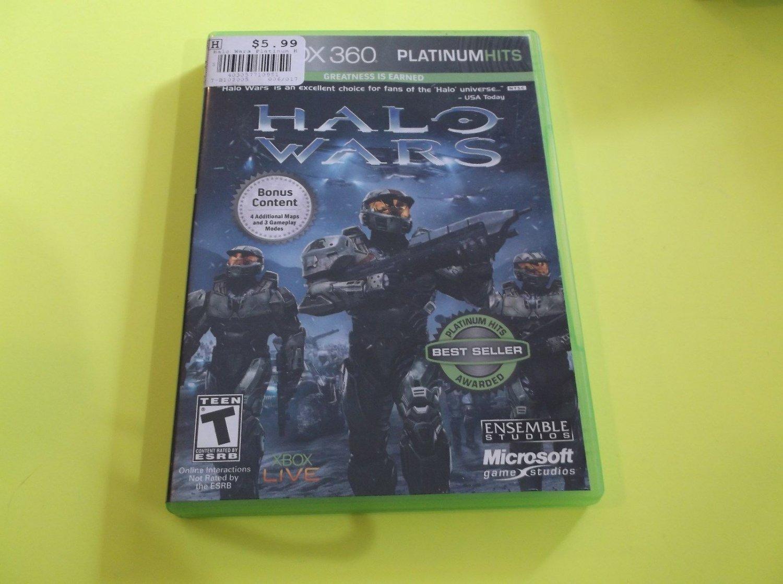 Halo Wars Xbox 360 PlatinumHits Used