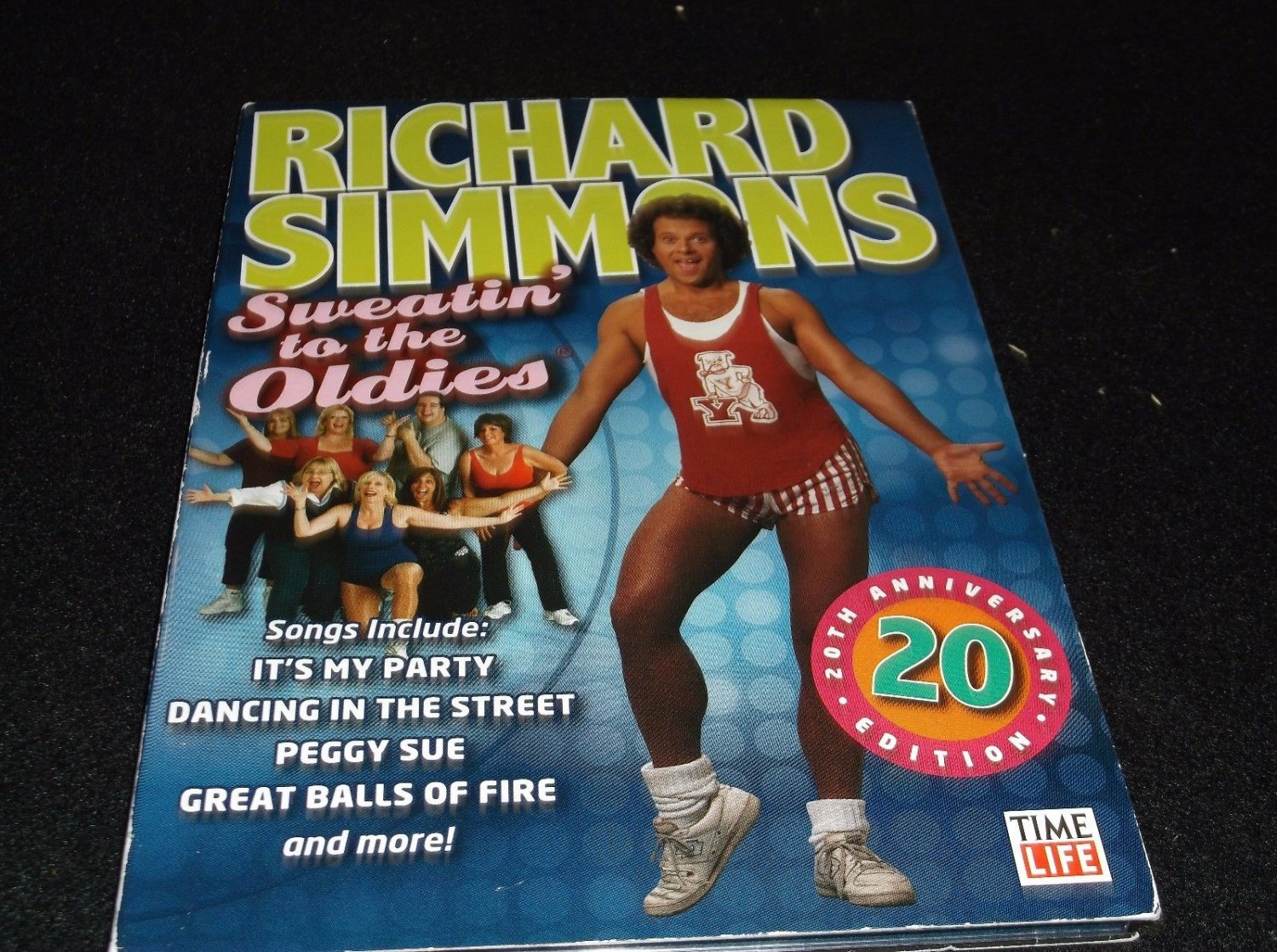 Richard Simmons Sweatin to the Oldies 20th Anniversary 90 Min DVD Time Life 2007