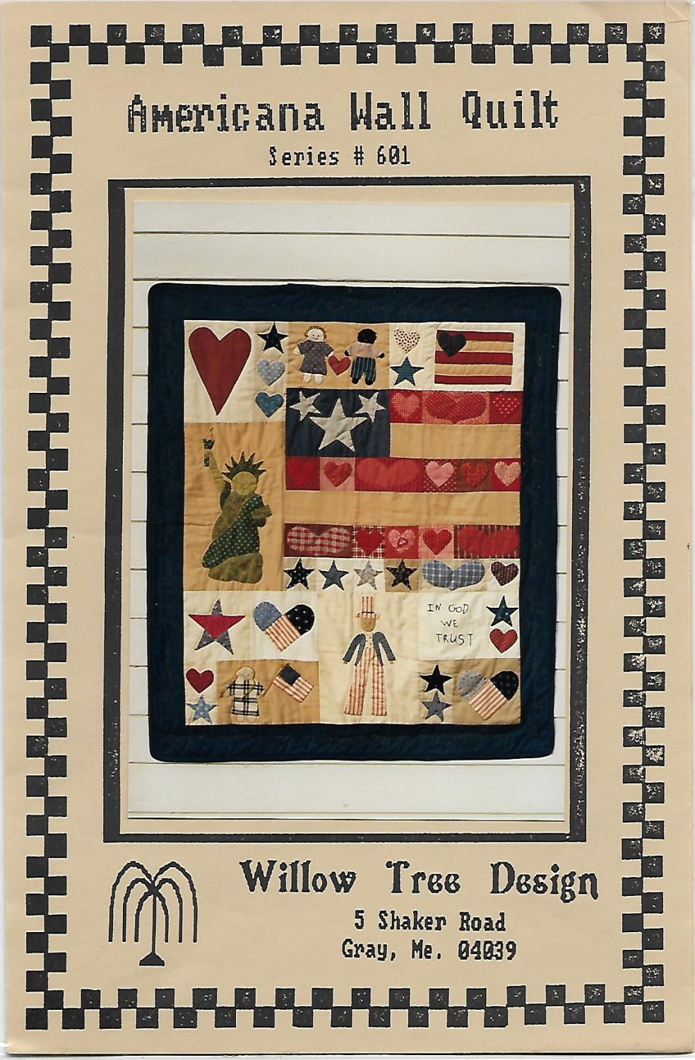 Americana Wall Quilt Pattern Series 601