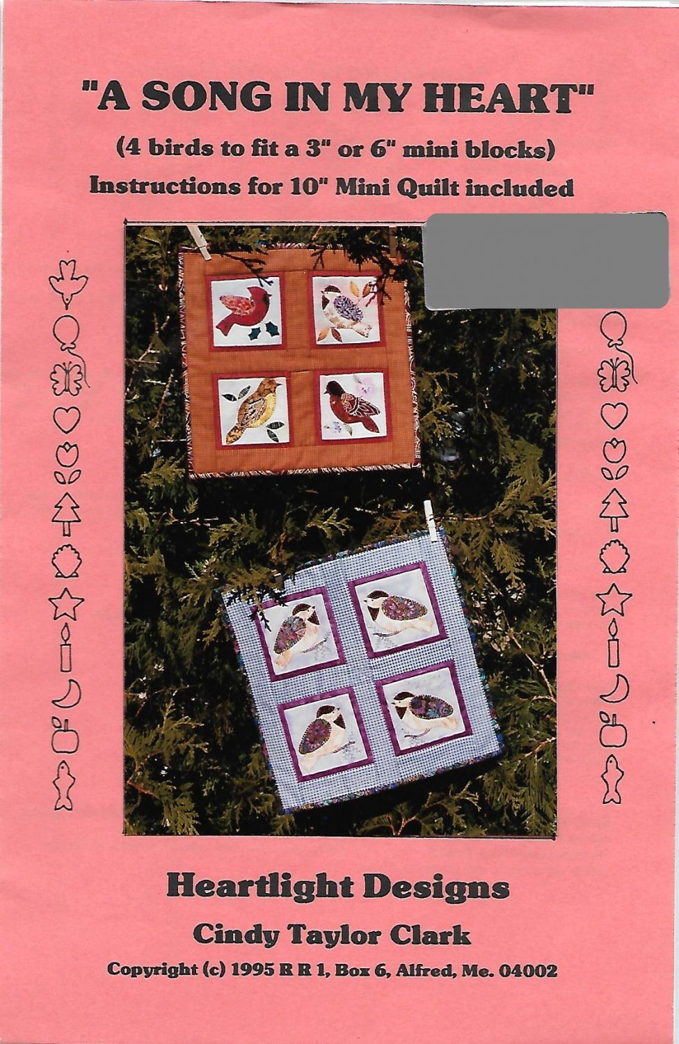 A Song in my Heart Mini Quilt Pattern
