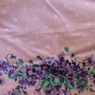 "46"" wide Pale Purple Cotton Border Print"