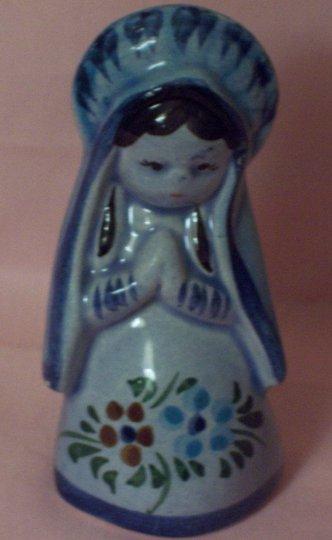 Mexican Praying Figurine Tonala Style