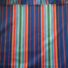 "60"" wide 1 yard 25"" Brightly Striped Cotton"