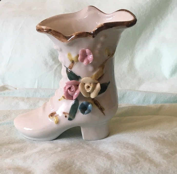 Small Porcelain Shoe