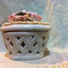Potpourri Pot with Raised Flowers
