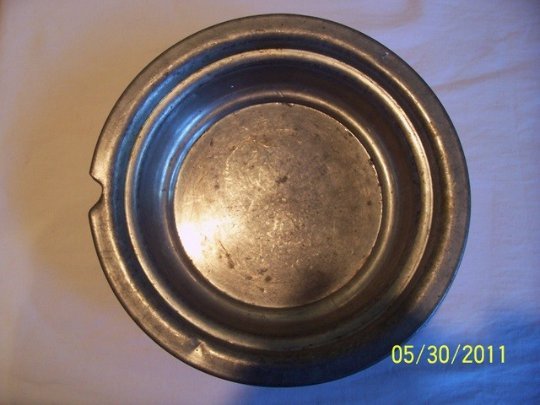 Shabby Chic Pewter Bowl