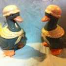 Green Goose Salt and Pepper Shakers