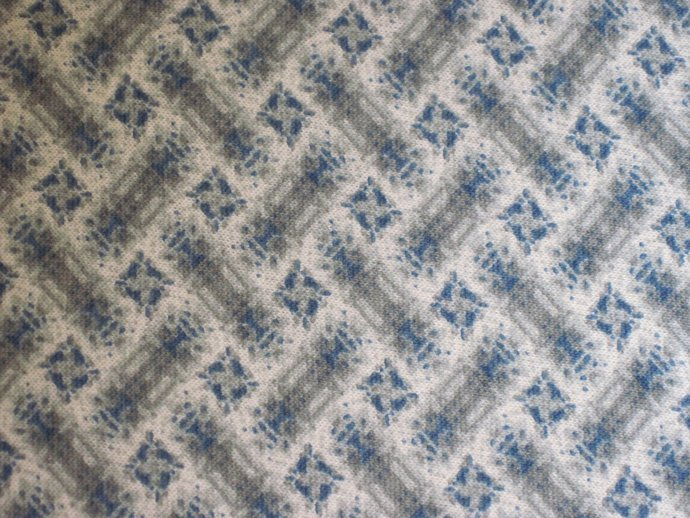 """64"""" 4 Yards Wide Abstract Teal and Grey Knit"""