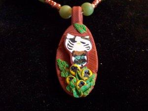 hello kitty beaded necklace