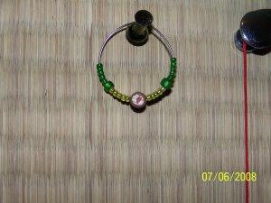 Sushi earring