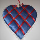 Wall Jewelry Heart Hanger for Necklaces, Rings, Bracelets, Hand Made