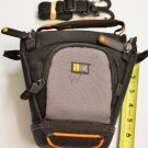 Case Logic Camera Bag, Zippered & Velcro Pockets, SLR /DSLR, slots 4Memory Cards