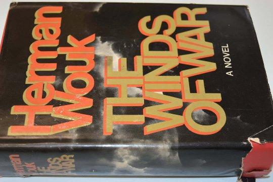 The Winds Of War, Herman Wouk, 1971, Cracked Binding, Damaged Jacket