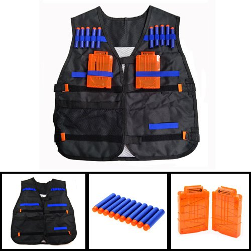 LNL Hot Breathable Tactical Vest Kit for Nerf N-Strike Elite Tactical Vest Kit