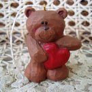 EDDIE WALKER MIDWEST OF CANNON FALLS BEAR CHRISTMAS ORNAMENT HEART *NEW*