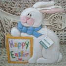 EDDIE WALKER RARE LARGE HAPPY EASTER PLAQUE ***NEW WITH TAG***