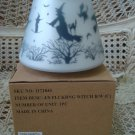 YANKEE CANDLE FLICKERING WITCH HALLOWEEN JAR SHADE NEW IN BOX **RETIRED***