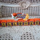 MIDWEST IMPORTERS HAPPY HALLOWEEN WHIMSICAL DECORATION **RETIRED**