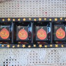 SUSAN WINGET HALLOWEEN CERAMIC LARGE DISH COMPARTMENTS PUMPKINS JACK O'LANTERNS