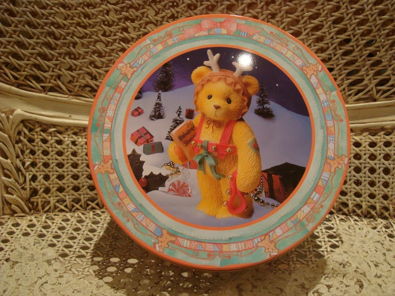 CHERISHED TEDDIES CHRISTMAS REINDEER BEAR BEANIE & ORNAMENT **NEW*** SO CUTE