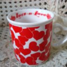 MIDWEST IMPORTERS LOTS A LOVE HEART MUG ***NEW*** SO CUTE