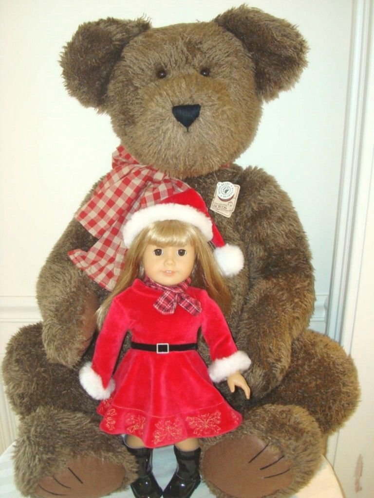 """RETIRED GIANT BROWN BOYDS BEAR 40"""" TALL NEW IN BOX W/ TAGS ***GREAT GIFT***"""