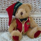 ADORABLE GODIVA CHRISTMAS ELF SANTA BEAR ***SO CUTE***