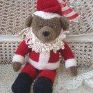 ADORABLE HALLMARK SANTA CLAUS CHRISTMAS BEAR **SO CUTE**