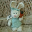 "BOYDS  10"" TALL ADORABLE EASTER BUNNY WITH CARROT **NEW** SO CUTE***"