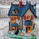 MIDWEST OF CANNON FALLS MUMMY'S MORTUARY HALLOWEEN VILLAGE HOUSE **RETIRED**