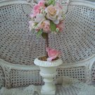 GORGEOUS ROSES TOPIARY IN URN ***PERFECT FOR SPRING***