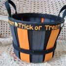 SET OF 2 ADORABLE HALLOWEEN TRICK OR TREAT DECORATIVE BASKETS **SO CUTE**