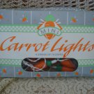 RETIRED & RARE MIDWEST OF CANNON FALLS EASTER CARROT LIGHTS ***SO CUTE***