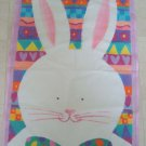 CUTE EASTER BUNNY WITH BOW TIE TOLAND DECORATIVE FLAG *NEW*