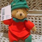 HALLMARK SMALL CHRISTMAS ELF BEAR RETIRED   **NEW*** *SO CUTE**